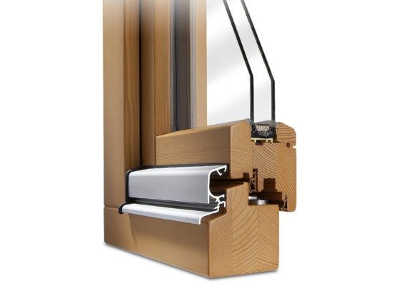 tilt and turn window section