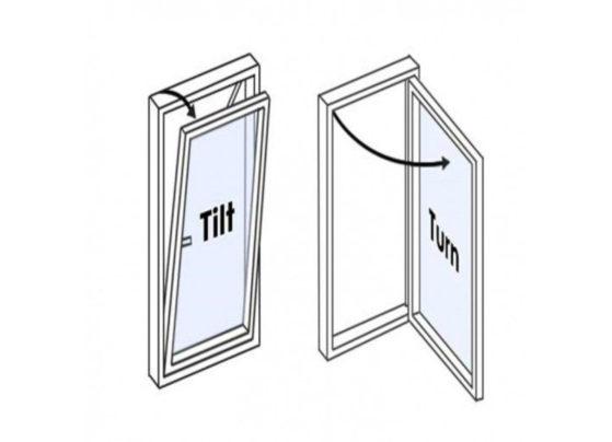 tilt and turn window diagram