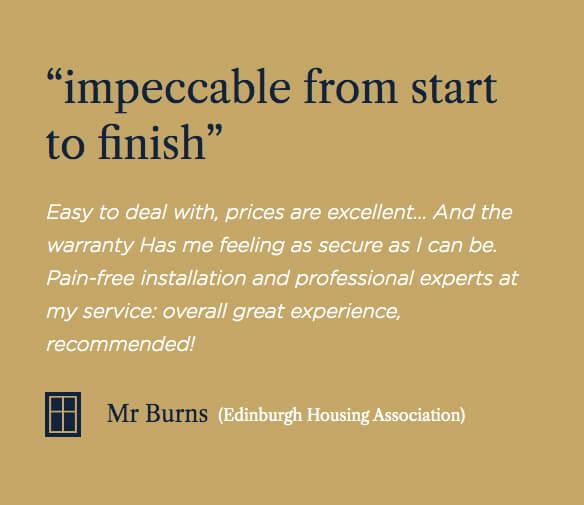glasgow housing association testimonial