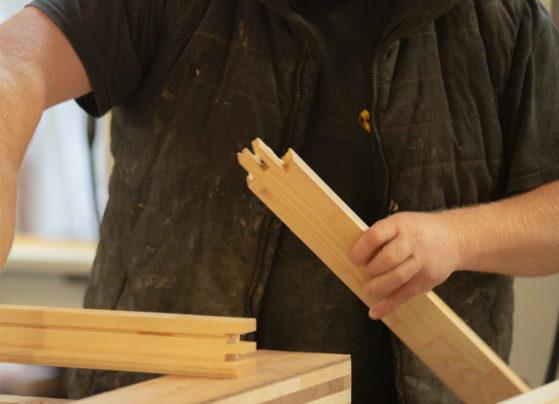 making external doors handmade