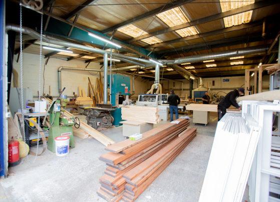 wooden window factory