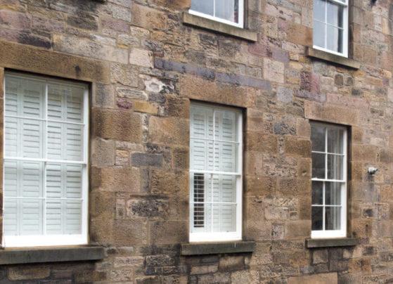 sash and case window edinburgh conservation