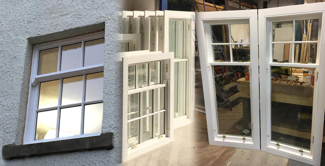 can you replace sash windows with double glazing