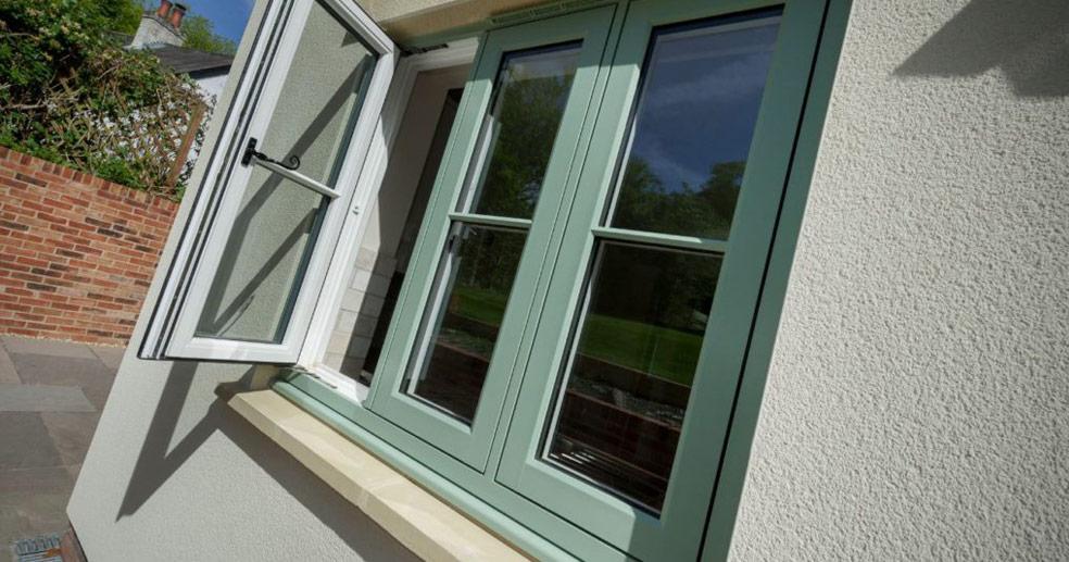 accoya timber windows london